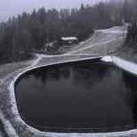 Следващата камера в Боровец - езеро захранващо снежните оръдия с вода