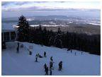 Боровец - панорама ски писта Ситняково експрес